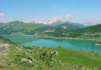 lac de roselend 2-1